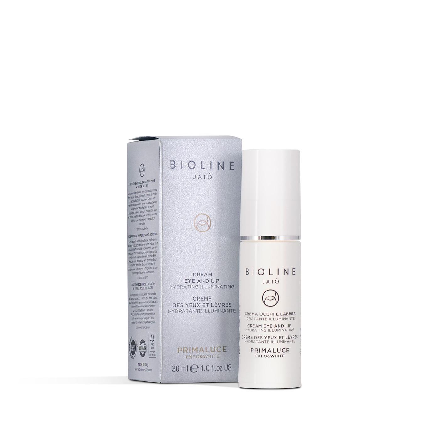 Primaluce Exfo&White - Cream Eye and Lip Hydrating Illuminating