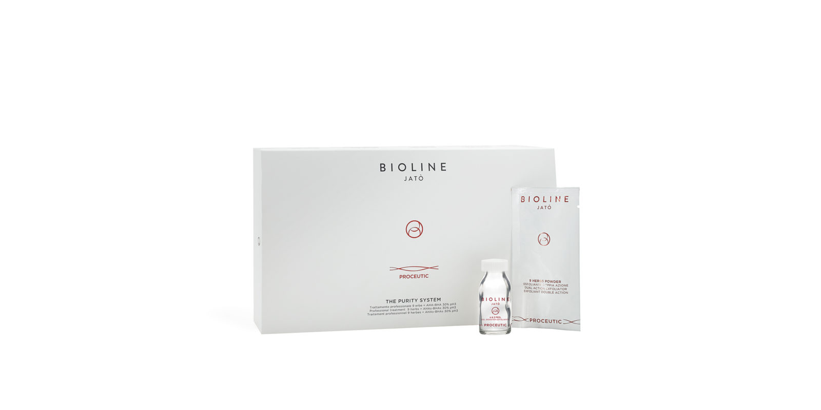 Bioline Jatò Proceutic 9 Herbs Powder Esfoliante
