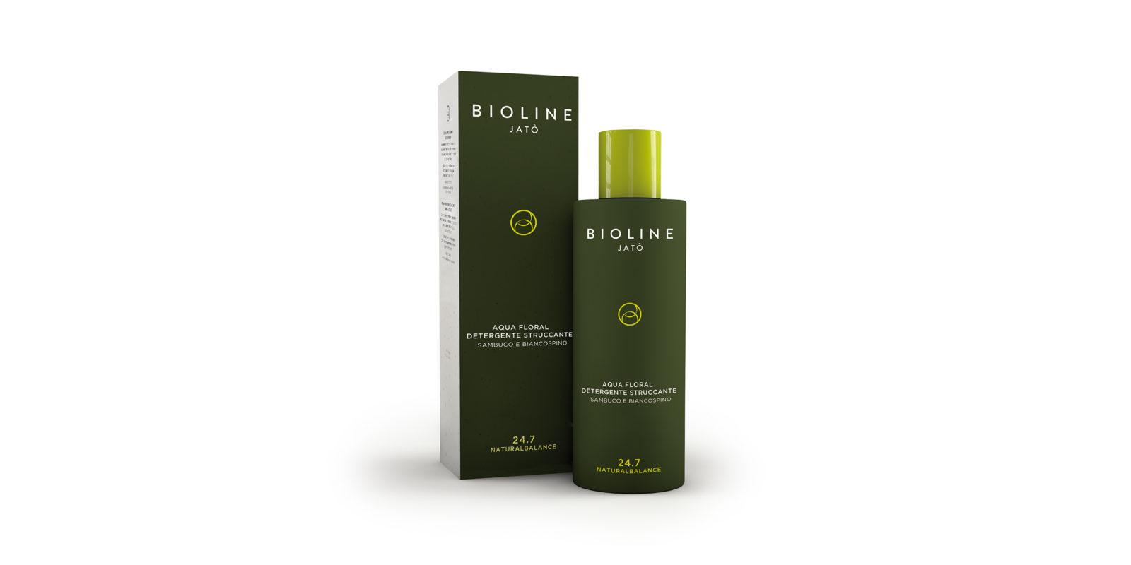 Aqua Floral detergente struccante Linea Naturalbalance - Bioline Jatò